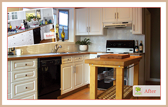 See the difference home staging makes. Home staging ideas.