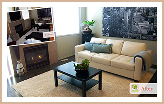 See the differece home staging makes.