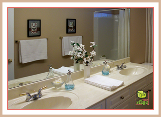 How To Stage A Bathroom. Staging A Bathroom
