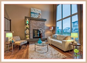 See the difference professional home staging makes?