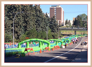 Slide the City Calgary 2015