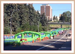 Slide the City Calgary 2015